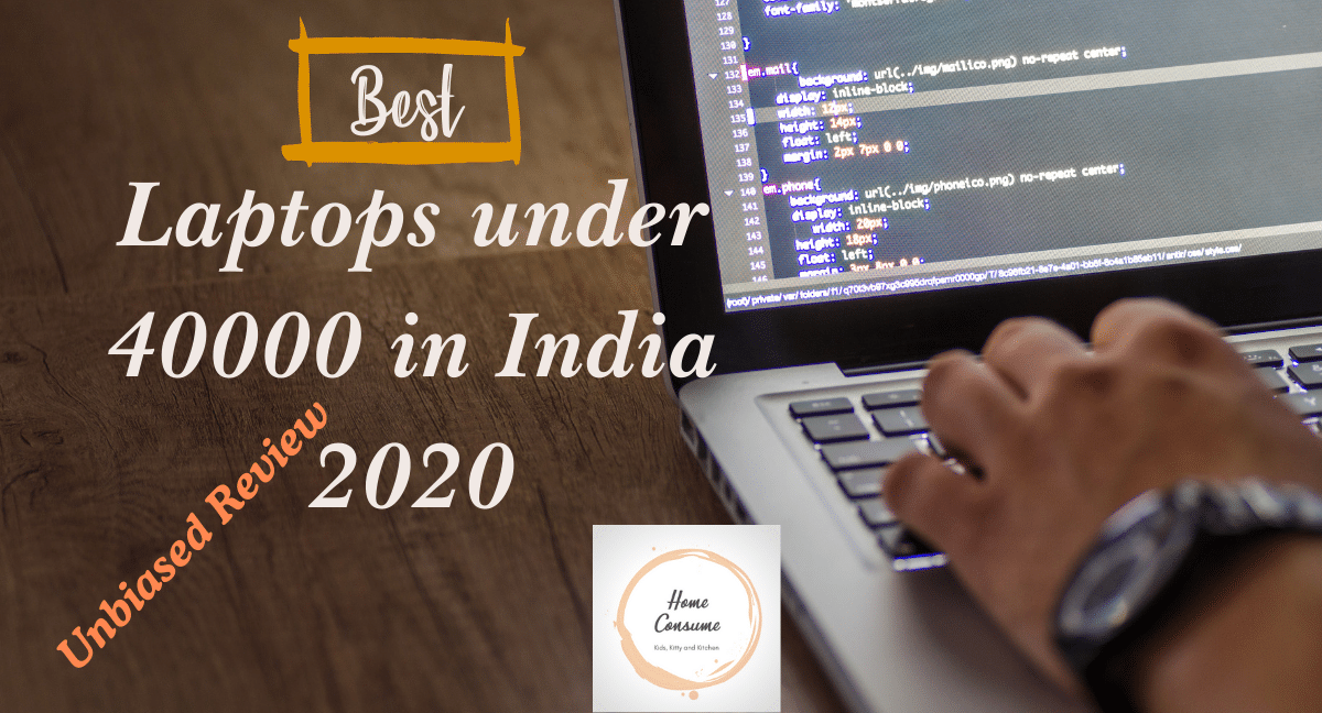 Best Laptops under 40000 in India 2020