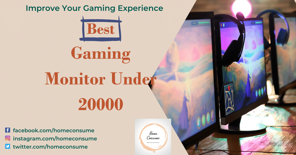 best gaming monitor under 20000