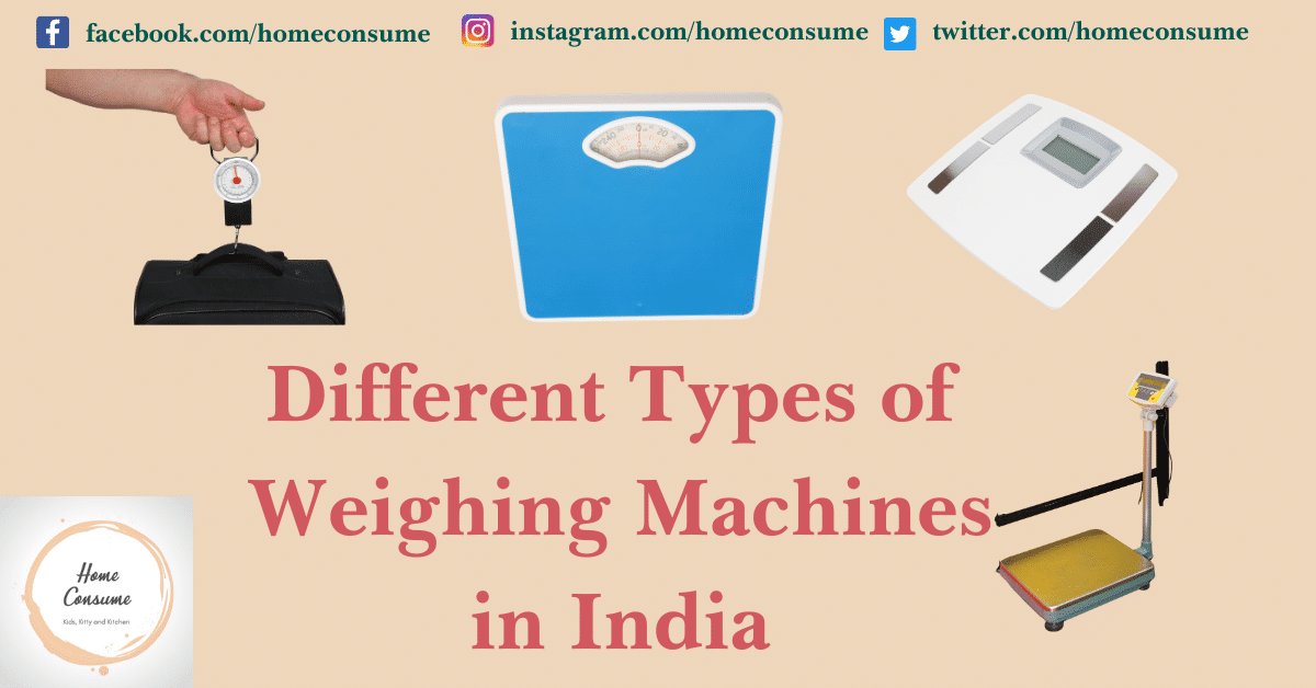 What are Different types of weighing machines in India
