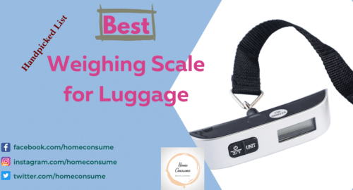 Best Weighing Scale for Luggage