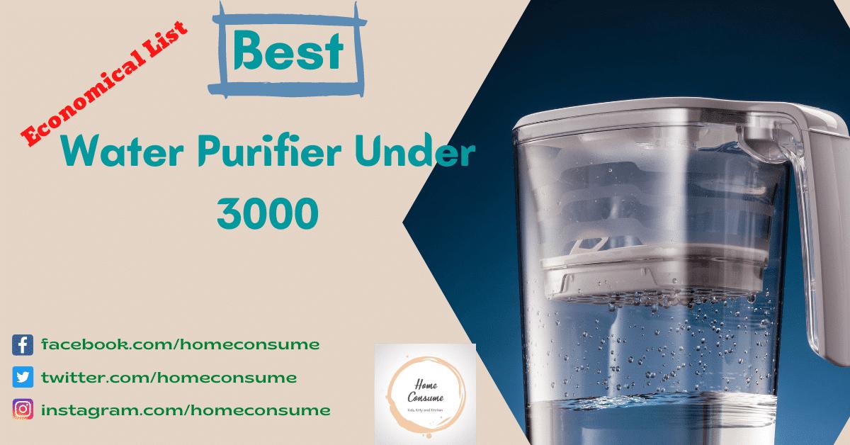 Best Water Purifier Under 3000