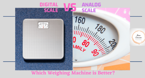 which weighing machine is more accurate digital or analog