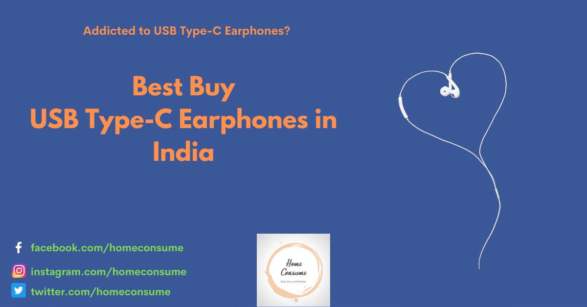 best usb type c earphones india